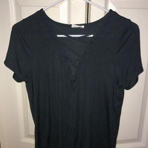 Lace up shirt just like the black one
